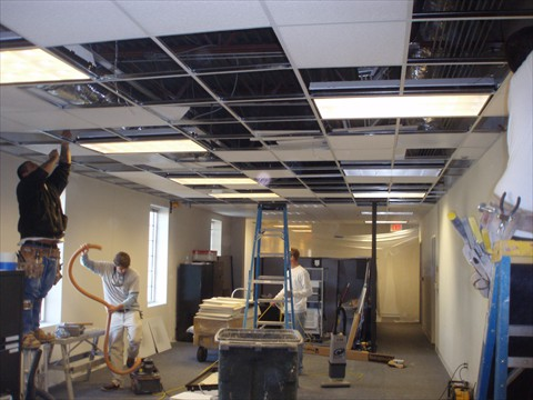 Comprehensive Office Renovation; Office Partitions And Additions; Office  Lignting; Drop Ceilings ...